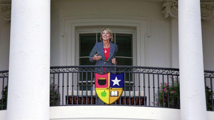 "Education Secretary DeVos Champions New ""Vouchsafe"" Program for Nation's Students"