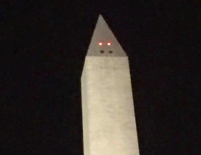 Washington Monument is Hangry