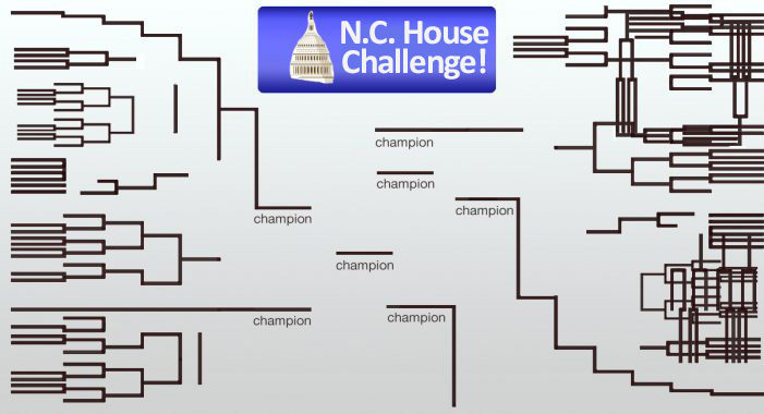 N.C. GOP Accused Of Gerrymandering House Racquetball Tourney