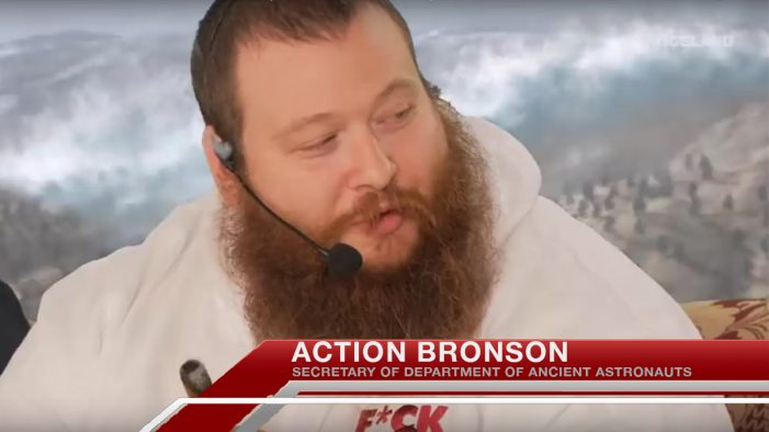 Action Bronson To Head New US Department of Ancient Astronauts