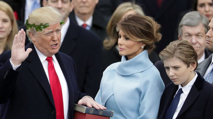 President Trump Inaugurated, Ushers In Golden Age Of Satire