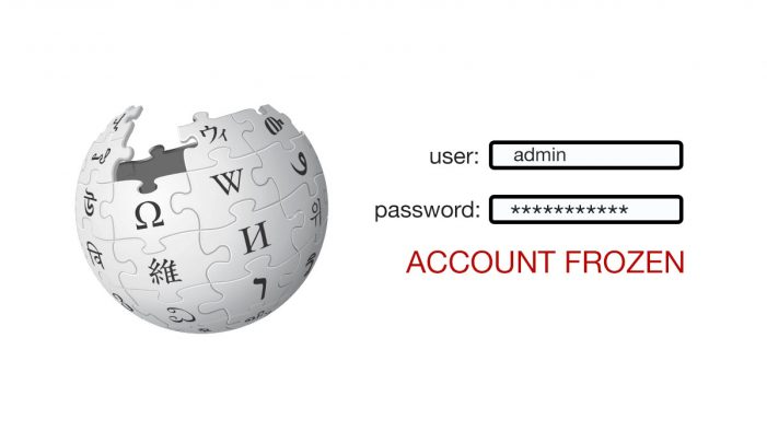 Admin Password Lost for Wikipedia Home Page, Site Is On Its Own Now