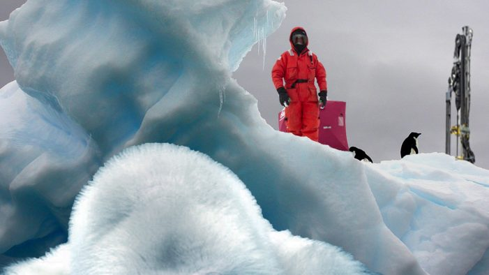 Climate Scientists Discover Abominable Snowman, Battle To The Death