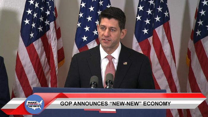 "GOP announces plan to privatize privatizing, will create ""new-new economy"""