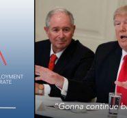 "Unemployment Rises, Wages Stagnant: Trump Declares ""Will Continue Big League"""