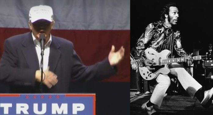 Trump Revelation: I Taught Chuck Berry How To Play Guitar