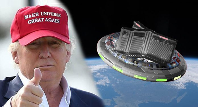 Trump Spaceship Almost Ready For Departure