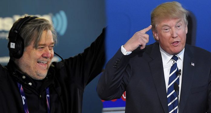 Trump Admits Chief Strategist Bannon Must Be An Imbecile