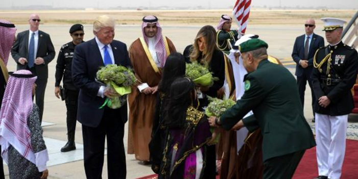 Trump Presents Giant Broccoli To Saudi King, Asks To Have It Cooked