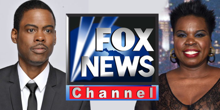In Bid To Bolster Humor, Fox News Names Leslie Jones CEO, Chris Rock Chairman