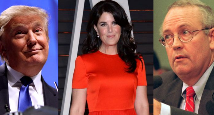 Ken Starr Opens New Monica Lewinsky Investigation Into President Trump