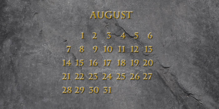Month Of August Demands US National Holiday