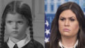 Was Sarah Huckabee Wednesday In The 1960's Sitcom Addam's Family?