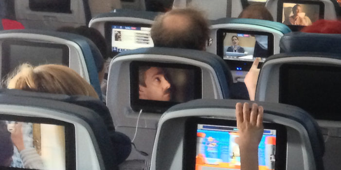"""Man Trapped In Airplane Seat Monitor: """"My Life Is A Living Hell"""""""