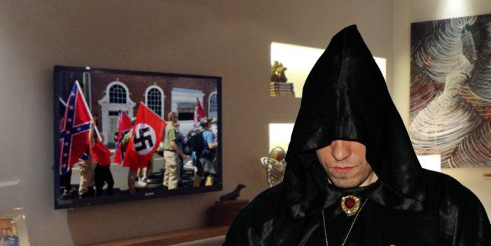 "Satan Worshiper Criticizes Nazi Protesters For ""Ridiculous Showboating"""