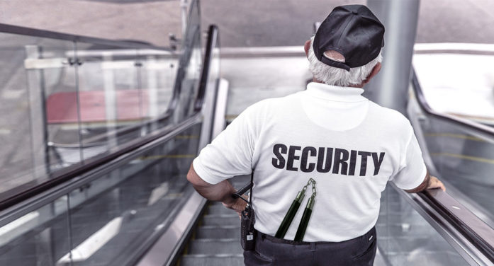 Security Guard Unsure Of Generation Z, Decides To Bring Nunchuks To Work