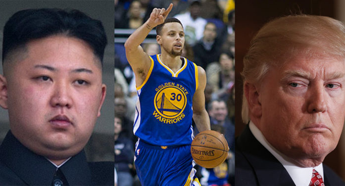 Kim Jong-Un Outraged At Insult To Stephen Curry – Vows Revenge