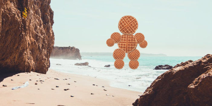 Waffle Monster Emerges From The Sea, Will Do Battle With Your Weight Loss Plan