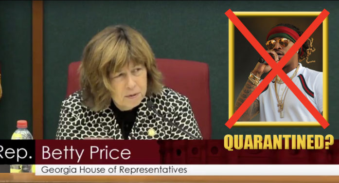 5 Quarantine Plans That Georgia Rep. Betty Price Forgot To Ask About