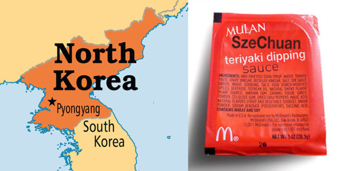 Trump Announces Szechuan Sauce Embargo On North Korea