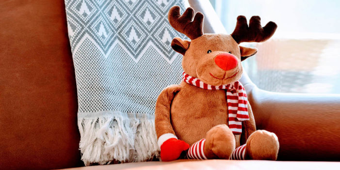 Reindeer Glad To Escape Existential Hell Of Being Packed In A Box For  A Year