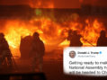 Rioting Commences As First Trump Tweet Exceeds 140 Characters