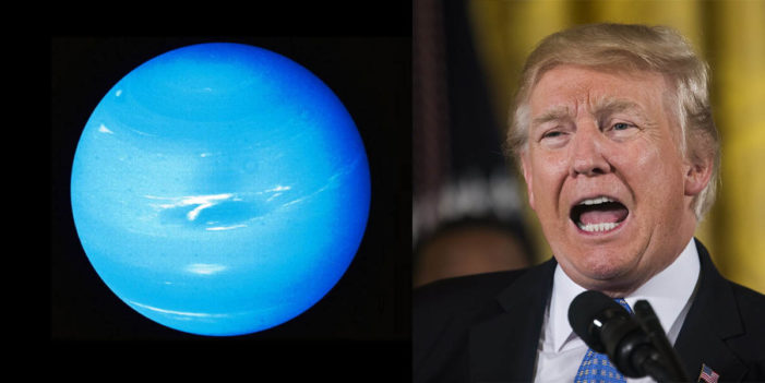 President Trump Demands Attorney General Start Looking Into Uranus