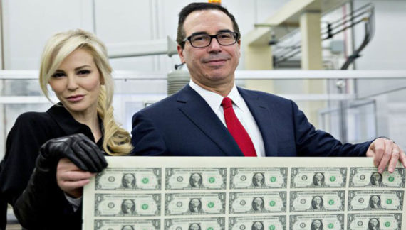 Treasury Sec. Mnuchin Confused Why Middle Class Is So Stupid