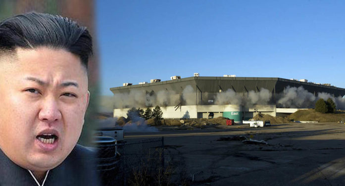 Kim Jong-Un Vows To Destroy Pontiac Silverdome In Show Of Strength