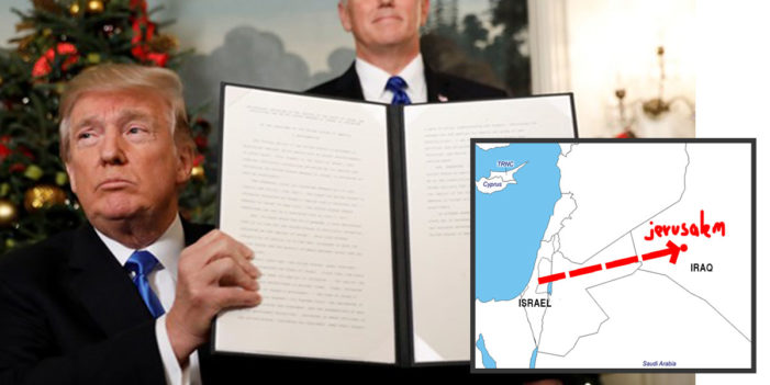 President Officially Recognizes Jerusalem As Capital Of Iraq