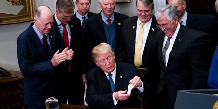 President Announces Plan To Send Tiny Astronauts To The Moon
