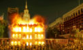 Eagles Fans Win Superbowl, Burn Independence Hall To The Ground