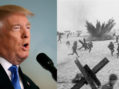 Trump Declares Would Not Have Been Afraid During Normandy Invasion