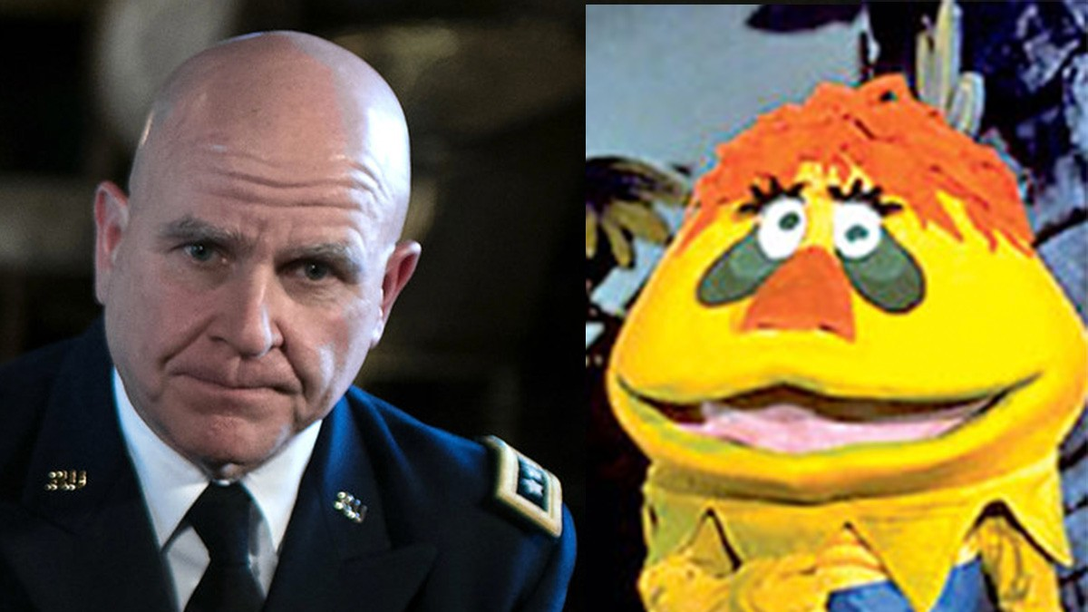 President Dismisses HR McMaster, Hires HR PufnStuf to ...
