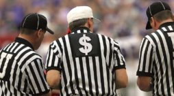 Crooked Referees Cheer Decision To Legalize Sports Betting