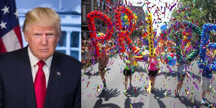 Trump Enacts New Tariffs On Glitter In Wake Of Pride Celebrations