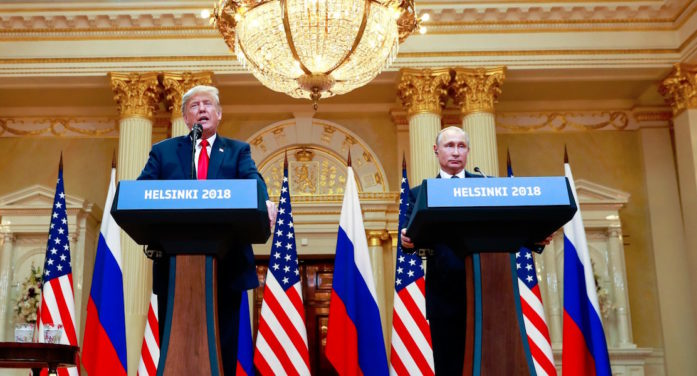 Trump And Putin Face Off In Debate To Become President Of Helsinki