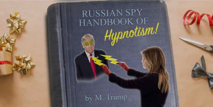 Last Minute Gift Ideas: Russian Spy Handbook Of  Hypnotism