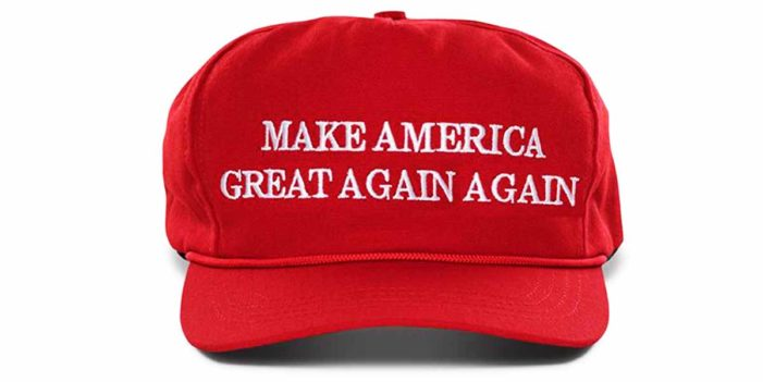"Trump Campaign Reveals 2020 Slogan ""Make America Great Again Again"""