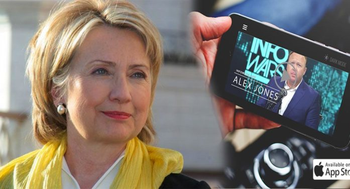 Info Wars App Actually A Way For Hillary To Monitor Your Movements