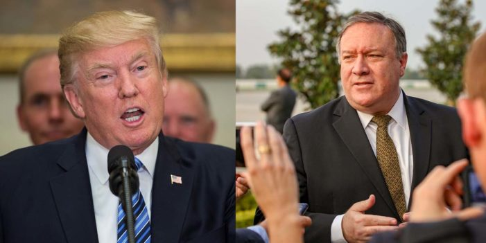 "Horrified Trump Fires Pompeo For ""Freakishly Low Net Worth"""