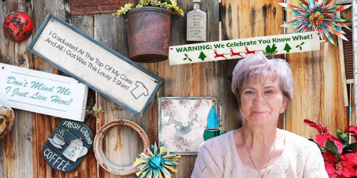 Aunt Unaware She's Running White Grievance-Themed Gift Shop