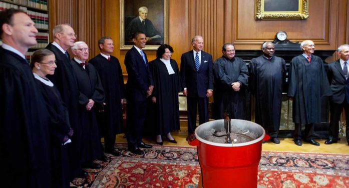 """Supreme Court Looking Forward To Attending """"Anything Goes"""" Keg Parties"""