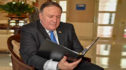 Mike Pompeo Assumes New Duties As Director Of Menu Book