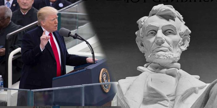 Trump Delivers Historic Schittysberg Address