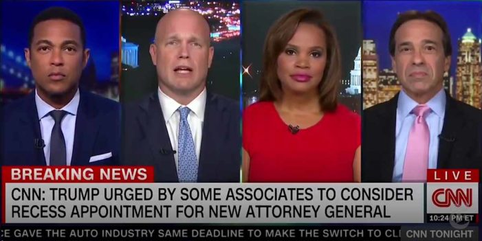 Matthew Whitaker Surprised So Many CNN Interviews Readily Available