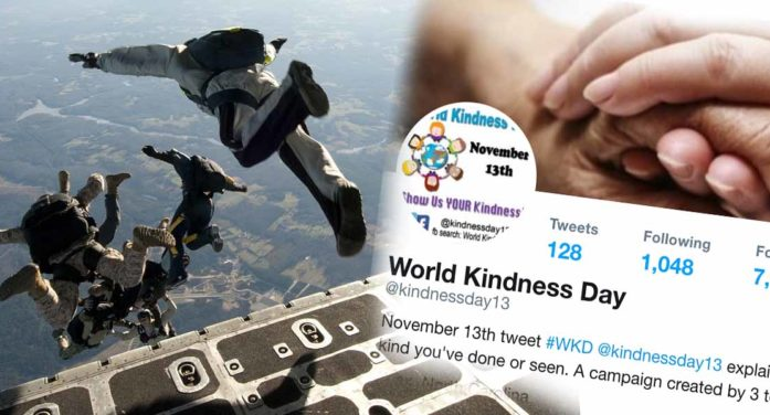 President Calls In Army To Put Down #WorldKindnessDay Celebrations