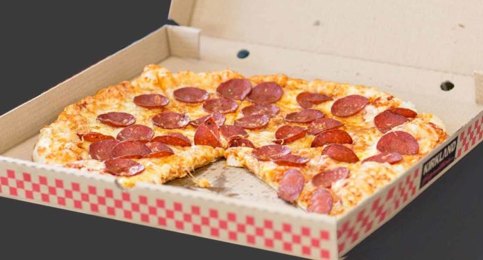 Man Posing As Large Pepperoni Pizza Most Popular Profile On Tinder