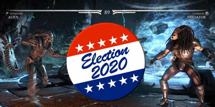 Millions Of Voters Pre-Ordering Mortal Kombat  To Prepare For 2020 Election
