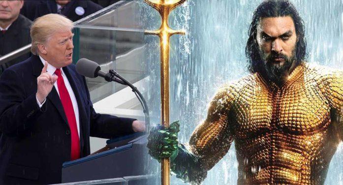President Trump Calls On Aquaman To End Government Shutdown